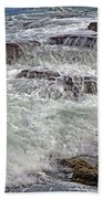 Thunder And Lace Beach Towel