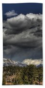 Thunder Mountains Beach Towel