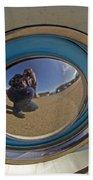 Thunderbird Self Portrait   #8148 Beach Towel