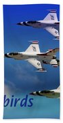 Thunderbirds Beach Towel