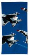 Thunderbirds Beach Towel by Larry Miller