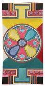 Tibetan Mandala Beach Towel