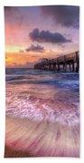 Tidal Lace Beach Towel