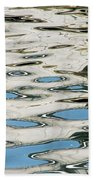 Tide Pools On The Water Beach Towel