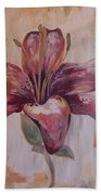 Tiger Lily Beach Towel