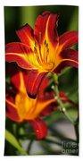 Tiger Lily0243 Beach Towel