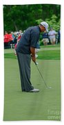 D12w-457 Tiger Woods Beach Towel