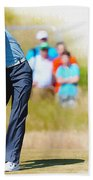 Tiger Woods - The British Open Golf Championship Beach Towel