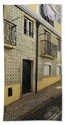 Tile Walls Of Lisbon Beach Towel