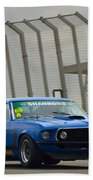 Tilley Racing Mustang Beach Towel