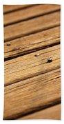 Timber Decking Beach Towel