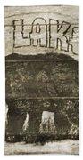 Timber Lake Lodge Beach Towel