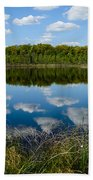 Timberland Lake Beach Towel