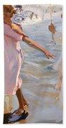 Time For A Bathe Valencia Beach Towel