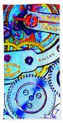 Time In Abstract 20130605 Long Beach Towel