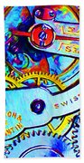 Time In Abstract 20130605 Beach Towel