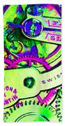 Time In Abstract 20130605m108 Beach Towel