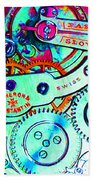 Time In Abstract 20130605m36 Long Beach Towel