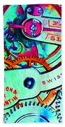 Time In Abstract 20130605m36 Beach Towel