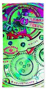 Time In Abstract 20130605m72 Square Beach Towel