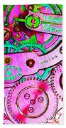 Time In Abstract 20130605p108 Long Beach Towel