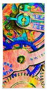 Time In Abstract 20130605p180 Beach Towel