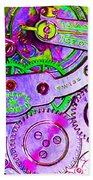 Time In Abstract 20130605p72 Long Beach Towel