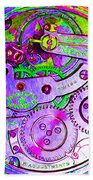 Time In Abstract 20130605p72 Square Beach Towel
