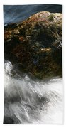 Time Rushing By Beach Towel