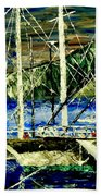 Time To Sail  Beach Towel