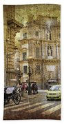 Time Traveling In Palermo - Sicily Beach Towel