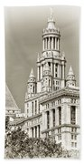 Timeless- New York City Hall Beach Towel