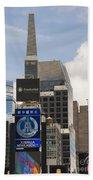 Times Square Color Beach Towel