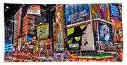 Times Square Beach Sheet