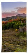 Timp Fall Glow Beach Towel by Chad Dutson