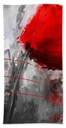 Tint Of Red Beach Towel