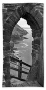 Tintagel Portal 1 Beach Towel