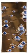 Tiny Tiny Bubbles  Beach Towel