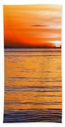 Tip Of The Sun Beach Towel