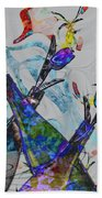 Tippy Tulips Beach Towel