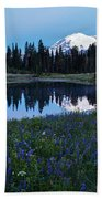 Tipsoo Reflection Tranquility Beach Towel