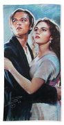 Titanic Jack And Rose Beach Towel