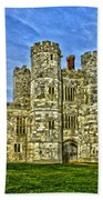 Titchfield Abbey Hdr Beach Towel