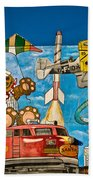To Be Young Again Beach Towel