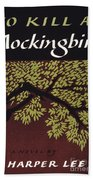 To Kill A Mockingbird, 1960 Beach Towel