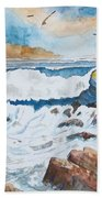 To Rough For Fishing Beach Towel