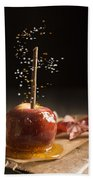 Toffee Apple Beach Towel