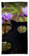 Together And Alone Beach Towel