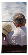 Together In Greece Beach Towel