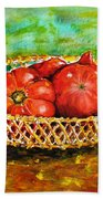 Tomatoes Beach Towel
